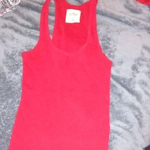 Medium Hollister tank top red